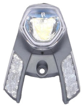 headlight in-sight hub dynamo silver/grey