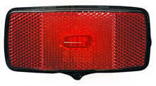 rear light H-Light led battery 50 mm black