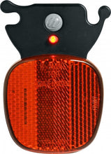 rear light led H-Rail batteries black/red