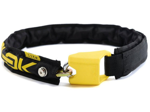 Lite portable chain lock 75 cm black/yellow