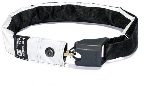 Lite portable chain lock 75 cm reflection black/white