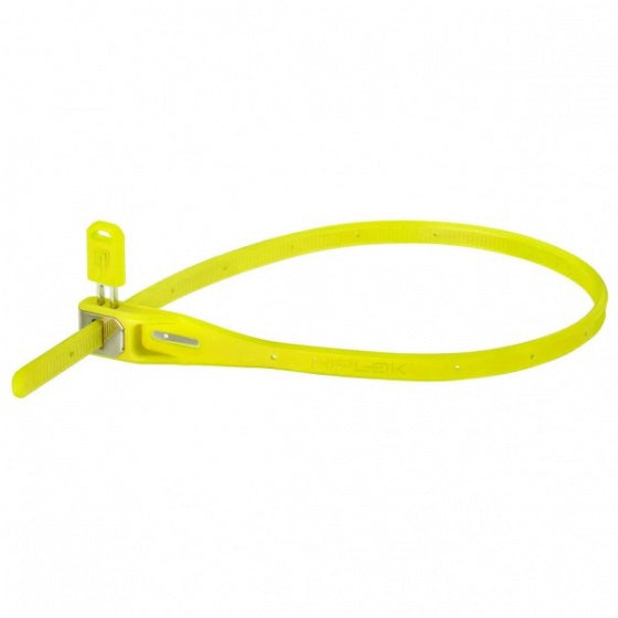 Z-Lock cable lock yellow with lock
