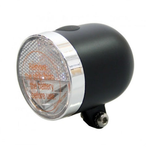 headlight Nero led 7 cm black
