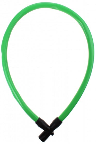 cable lock 650 x 6 mm green