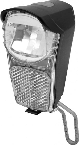 headlight Clever battery led 20 lux black