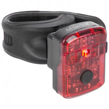 taillight Helios K1.1 led rechargeable black/red