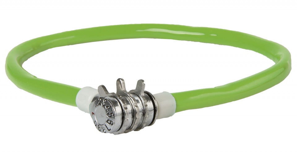 Cable digit combination 500 x 12 mm green