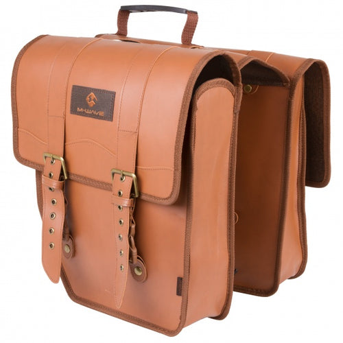 double bicycle bag Amsterdam Double 15L brown