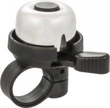bicycle bell Bella silver / black 33 mm