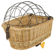dog basket behind Carrier Topbrown
