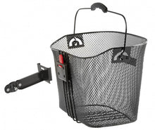 bicycle basket BA-F Clip for 23 litres black