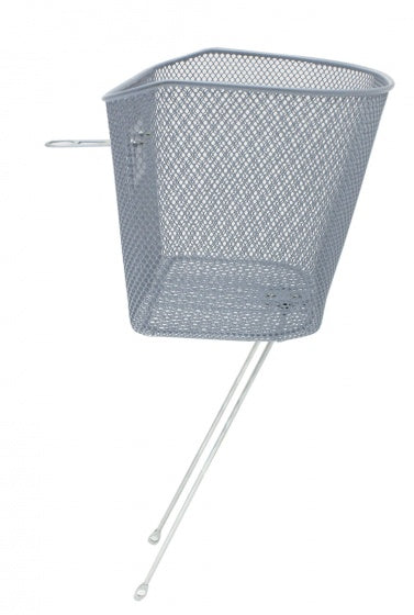 bike basket 26-28 inch for 19 liters of silver