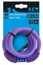 Cable digit combination silicone 1000 x 12 mm purple