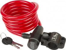 cable lock  S 10.18 1800 x 10 mm red