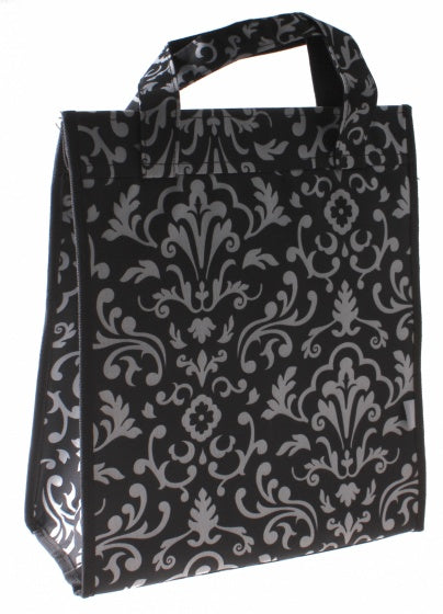 shopper Amsterdam18 liter polyester black/white