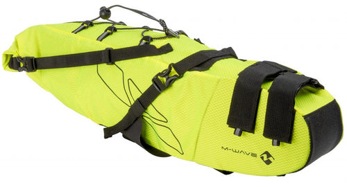 saddlebag Rough Ride L 11 litres yellow/black
