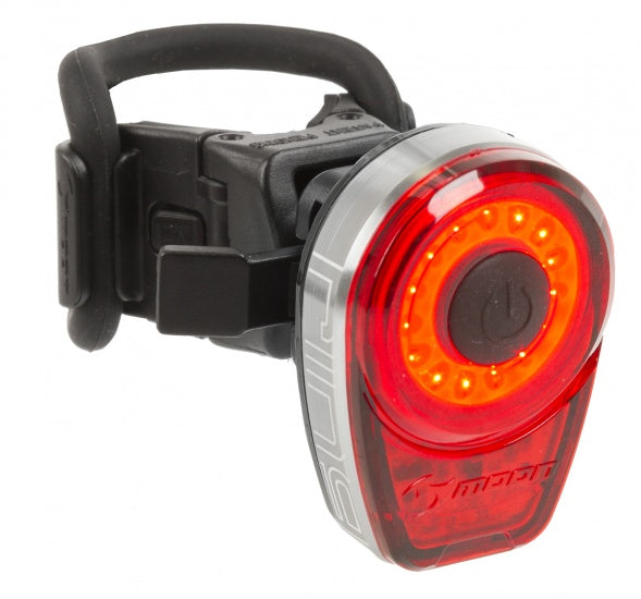 Taillight LED Battery Lamp Moon Ring