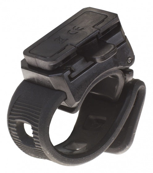 clamp for bicycle lights 19 - 35 mm black
