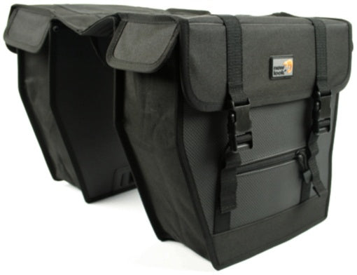 double pannier Superior 27L black