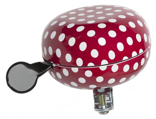 bell Polka 80mm red / white