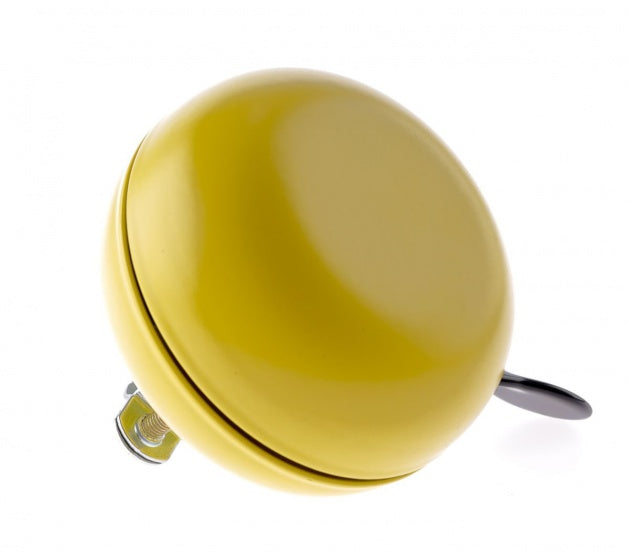 bicycle bell ding-dong steel 80 mm yellow