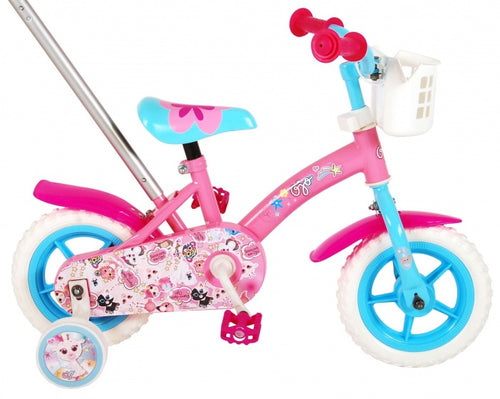 Ojo Kinderfiets 10 Inch 18 Cm Girls Fixed Gear Pink/Blue