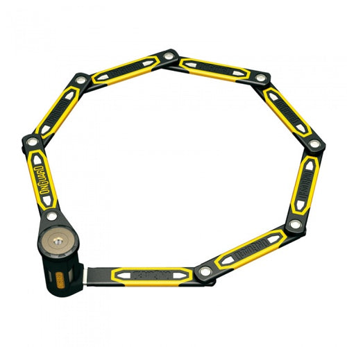 folding lock K9 79 cm black/yellow
