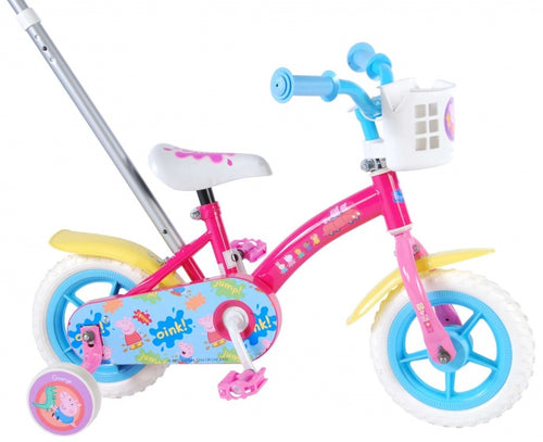 Peppa Pig Duwfiets 10 Inch 18 Cm Girls Fixed Gear
