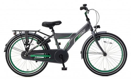 Popal Funjet X 22 Inch 34 Cm Boys Coaster Brake Green/Grey