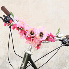 flowers for bike decorations