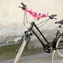 floral decoration for bike handlebars