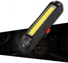 front led rechargeable 100 lumens black