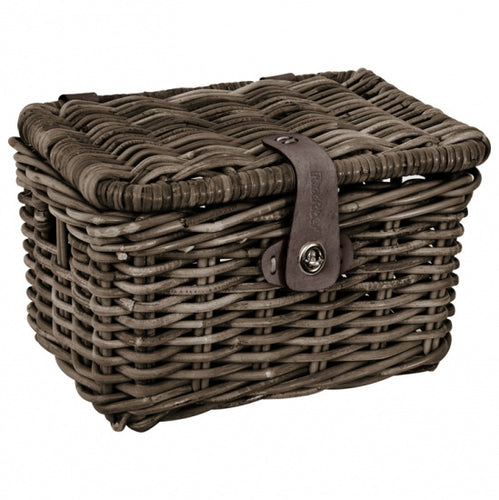 Rattan Basked with Cover for Junior Transportfiets