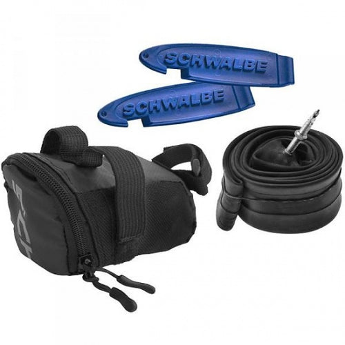 saddlebag 0,7 liter with inner tube 26 x 1.75 black
