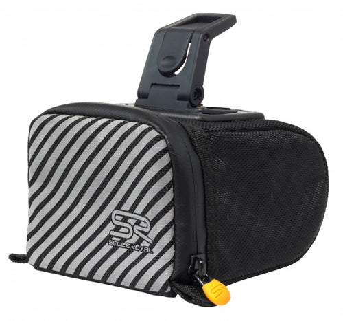 Saddle bag 0.5 liter black