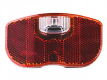 Cliff battery rear light luggage carrier led black