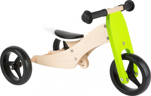 Small Foot Tricycle Trike 2-In-1 Loopfiets 10 Inch Junior