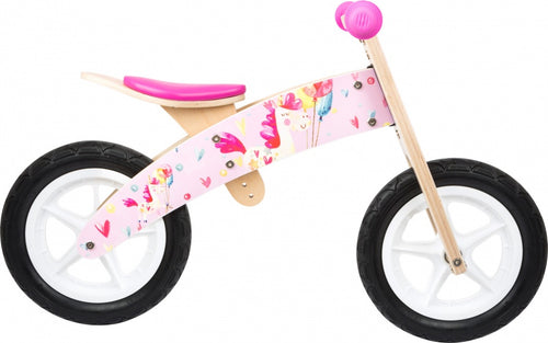 Small Foot Eenhoorn Loopfiets 12 Inch Girls Pink/Blank