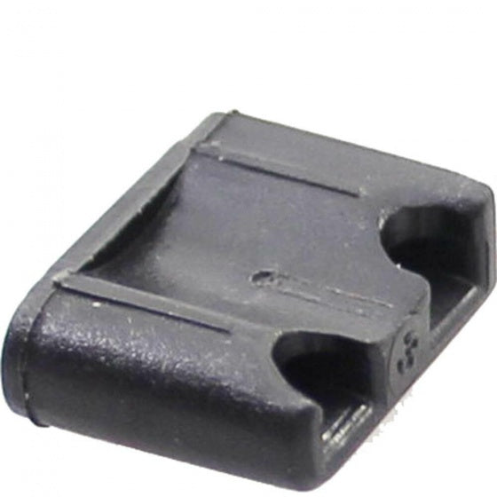 alternator cable connector 13 mm black per 10
