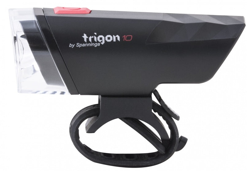 Headlight Trigon 10 LED black