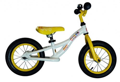 Studio 100 Loopfiets Maya De Bij 12 Inch Junior White/Yellow