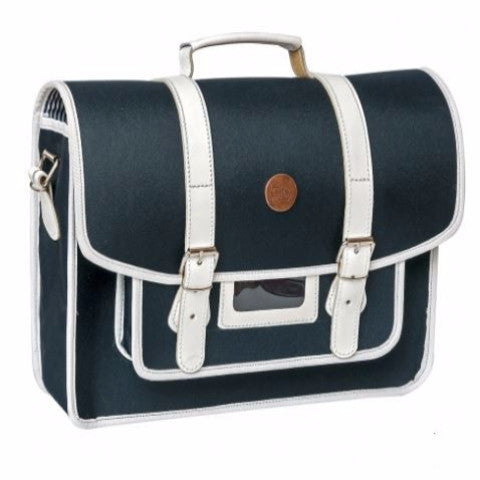 Stylish navy Bike Pannier Satchel