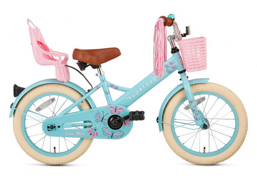 Supersuper Little Miss 16 Inch 25,4 Cm Girls Coaster Brake
