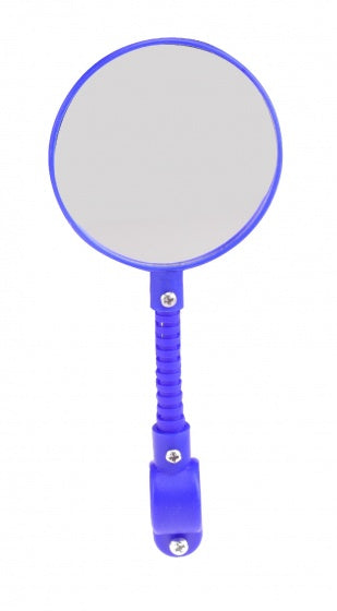 bike mirror blue