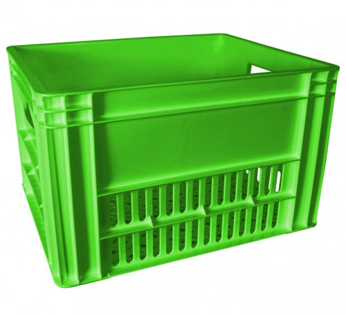 bicycle crate 43 x 35 x 27 cm 40 litres green