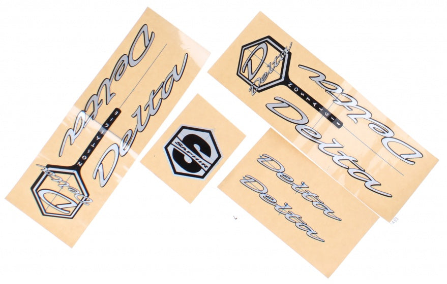 bicycle stickers Transfer Delta 4-piece