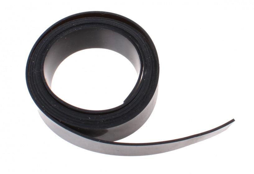 rubber pad 1 meter x 14 mm black