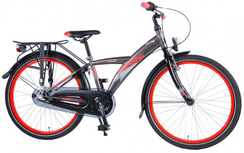 Volare Thombike 24 Inch 37 Cm Boys 3Sp Coaster Brake Grey/Red