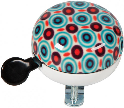 bicycle bell Retro blue / red 60 mm