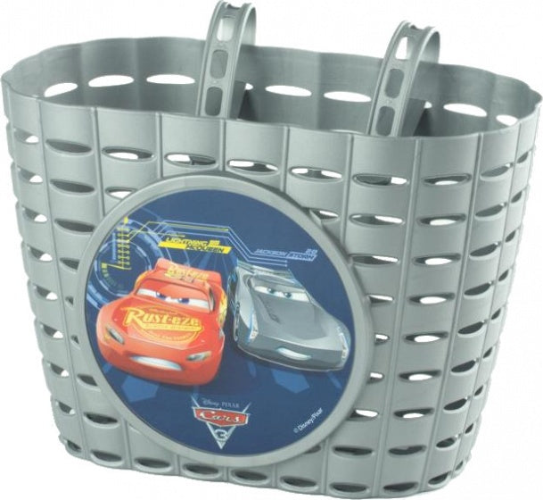 bike basket Cars 3 silver grey 6 liters